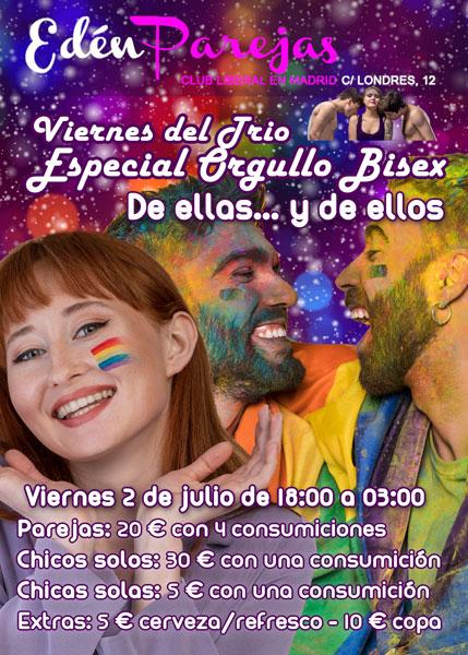 Viernes del trío - Especial Orgullo bisex